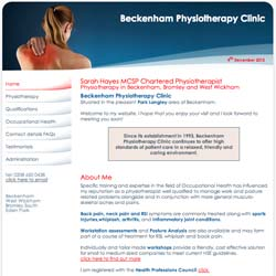 (Physiotherapy Website Design | Shape #02