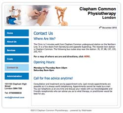 (Physiotherapy Website Design | Shape #03