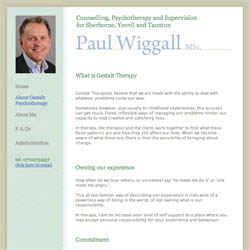 (Psychotherapy Website Design | Shape #02