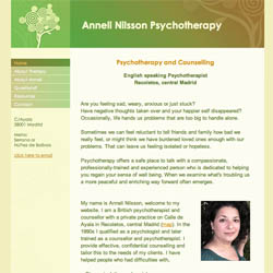 (Psychotherapy Website Design | Shape #03