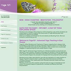 (Yoga Website Design | Shape #04