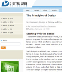 (Good Design | Good Web Design | Designing Article | Good Design Principles | Good Design Article #03
