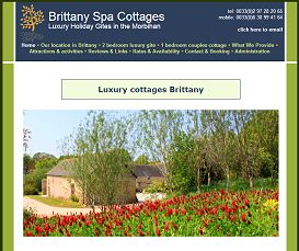 Partners. Brittany Spa Cottages